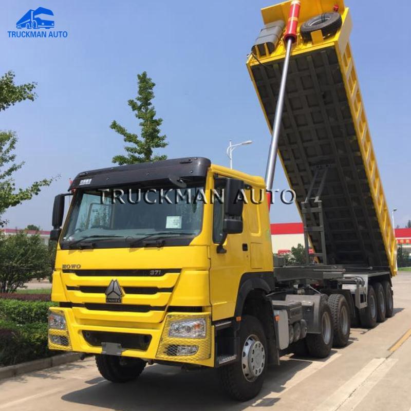 420 HP Sinotruk Howo 6x4 Tractor Head Truck Dengan HW79